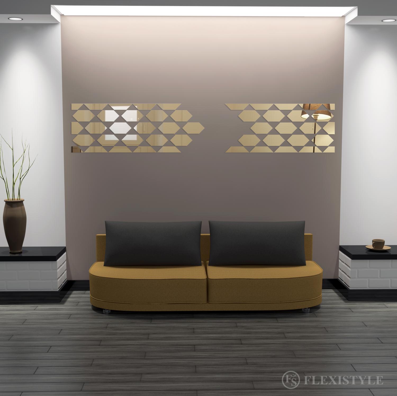 Lustro Dekoracyjne Akrylowe Geometric