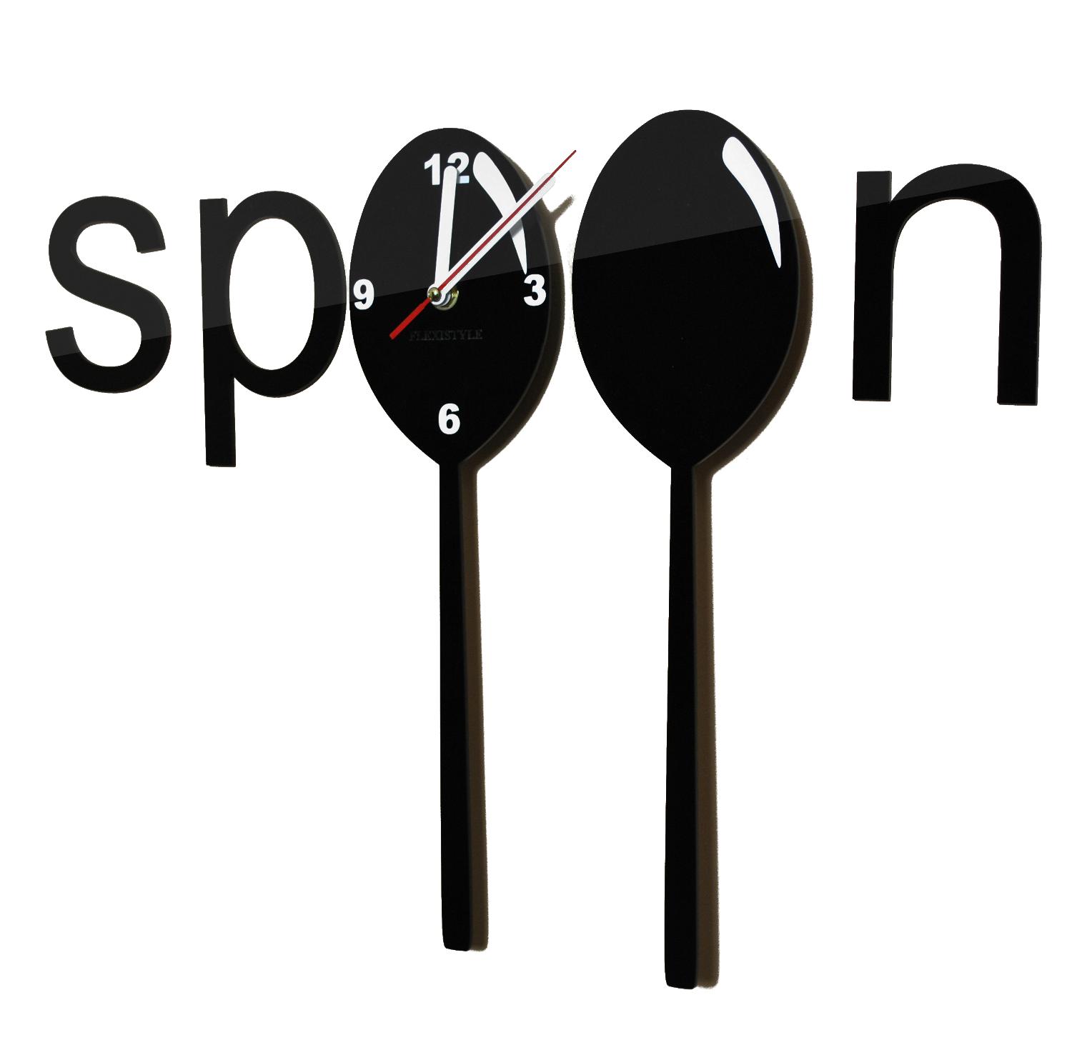 Zegar kuchenny Spoon