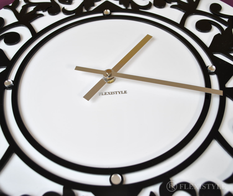 Zegar ścienny motylki