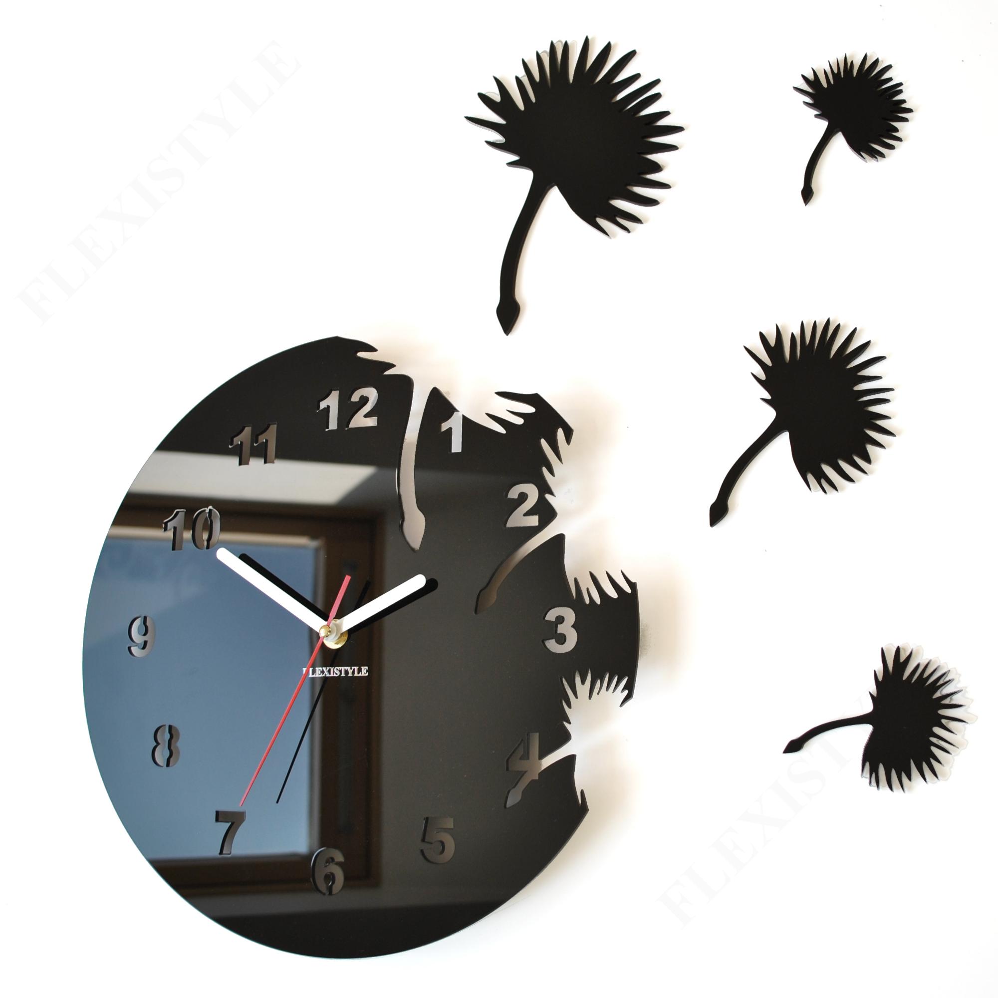 zegar ścienny Dmuchawce
