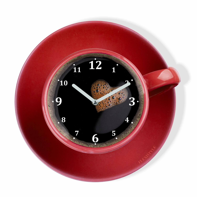 Zegar ścienny Do Kuchni Filiżanka Perfetta Kolory